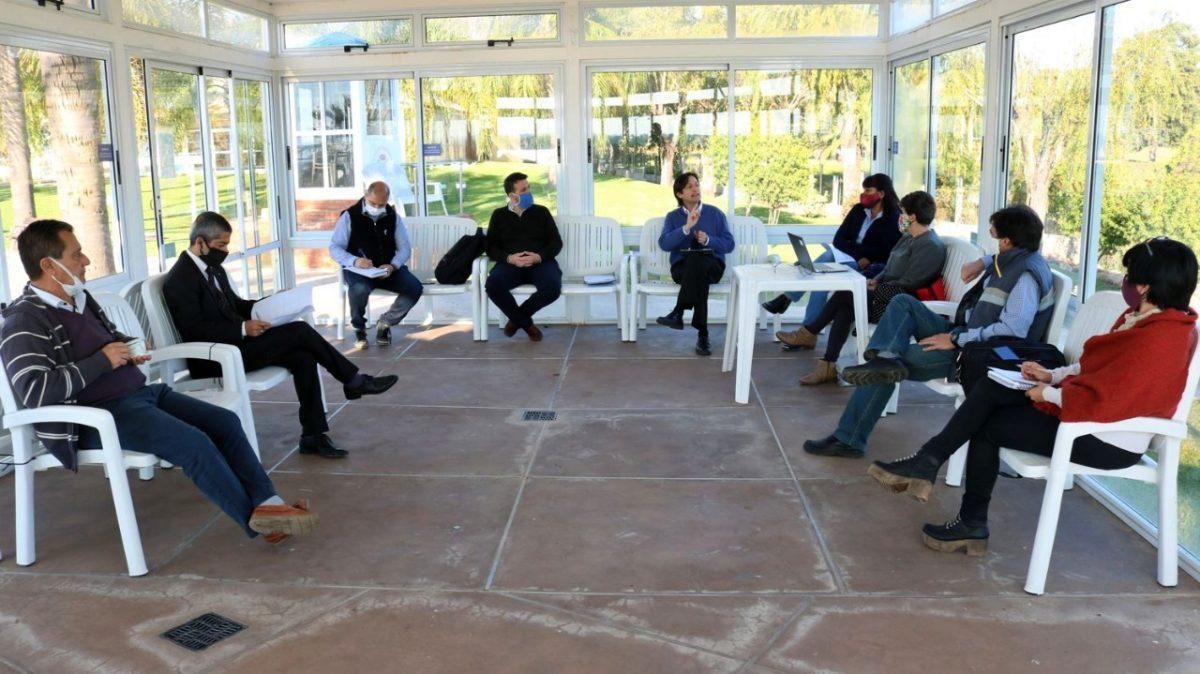 Las nuevas autoridades de la Caja de Jubilaciones Municipal tuvieron su primera reunión