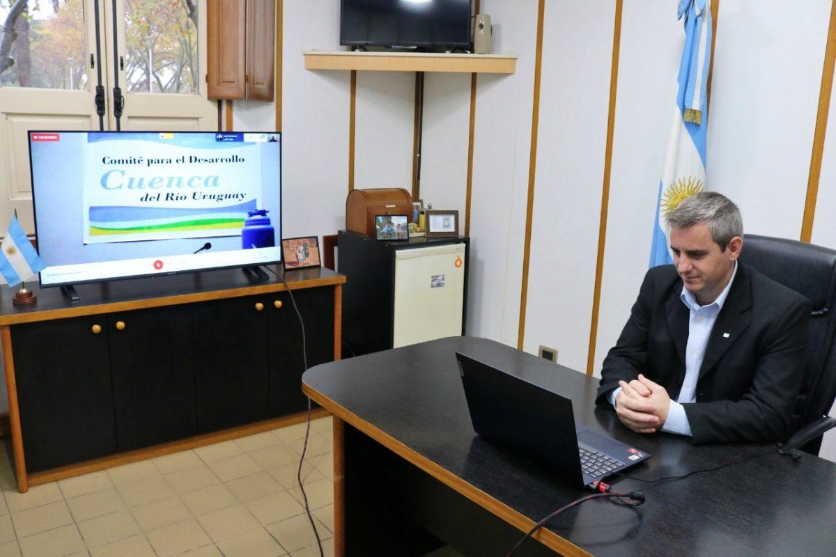 Colón participó del primer foro virtual sobre la emergencia sanitaria en la Cuenca del Río Uruguay