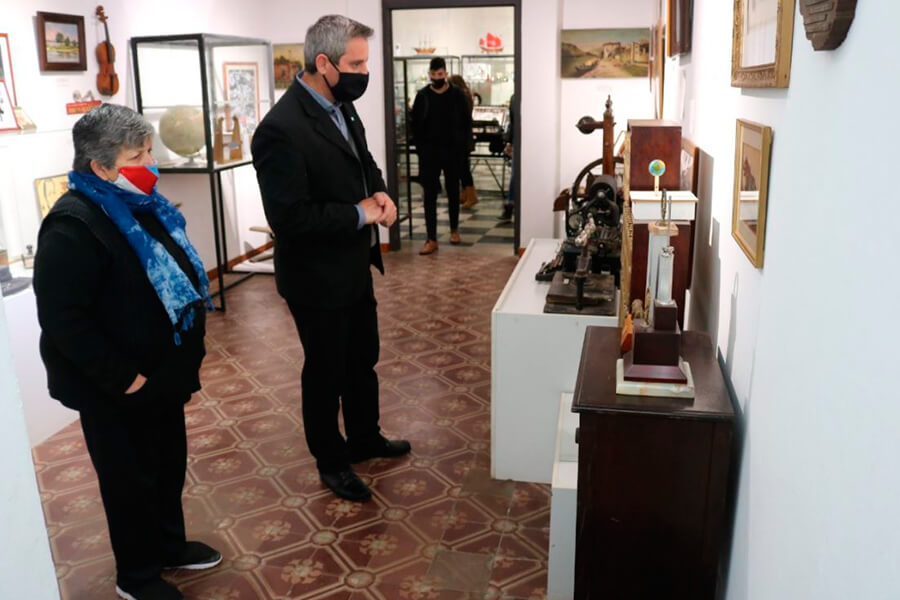 Conservacion de objetos del Museo de Colon