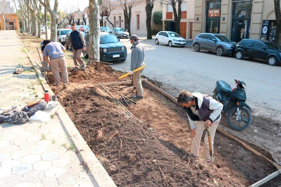 Mejoran Accesibilidad en Plaza San Martin