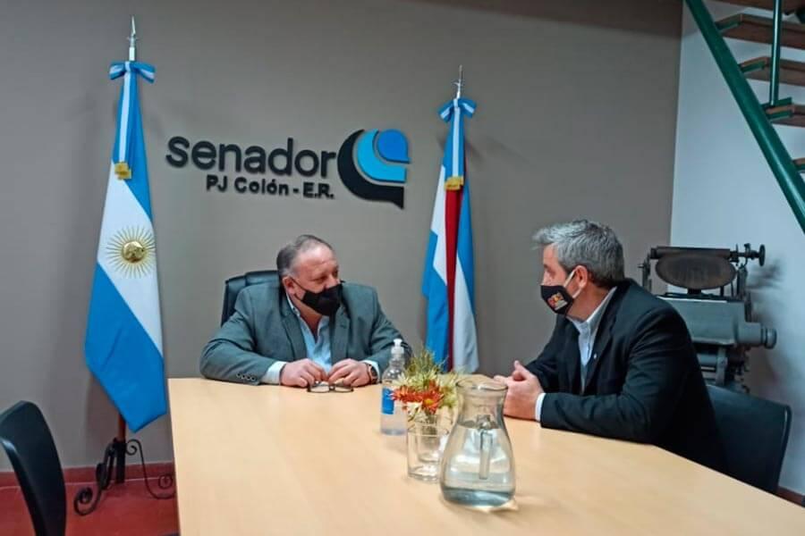 Reunion Walser y el Senador Santa Cruz