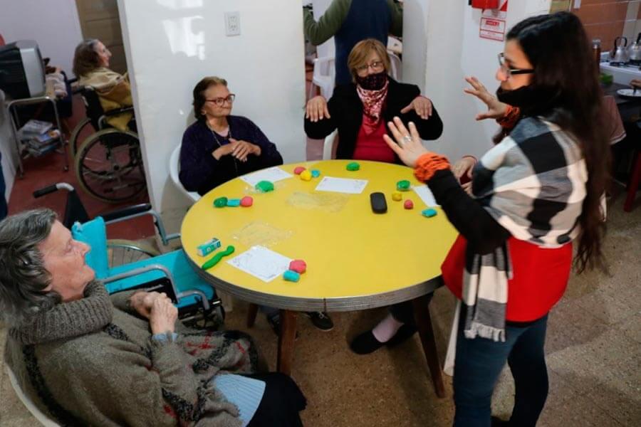 Talleres psicomotrices para adultos mayores