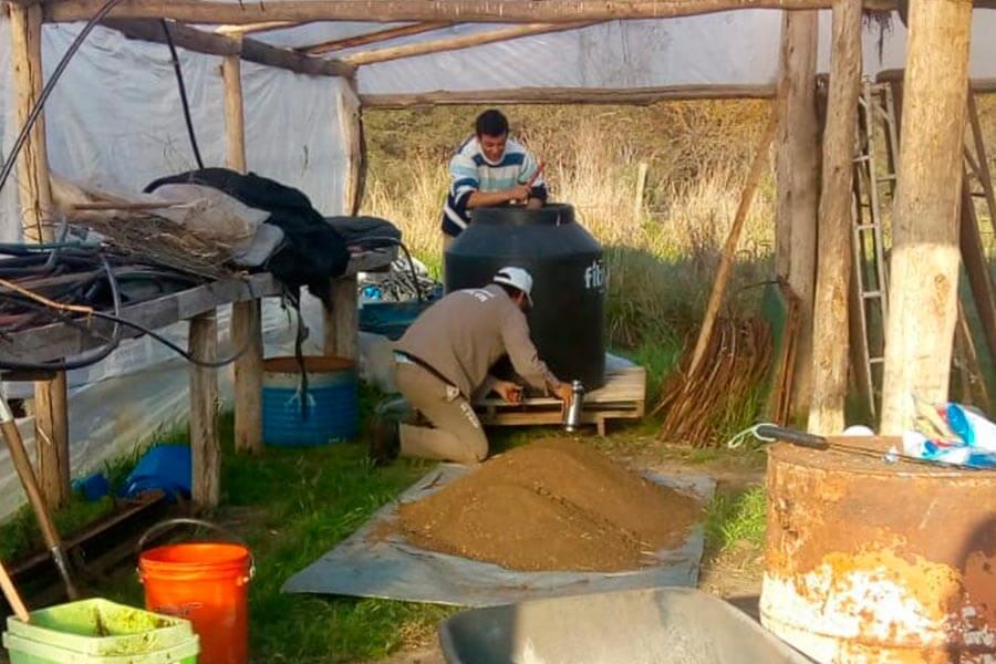 Fertilizantes naturales en el vivero municipal
