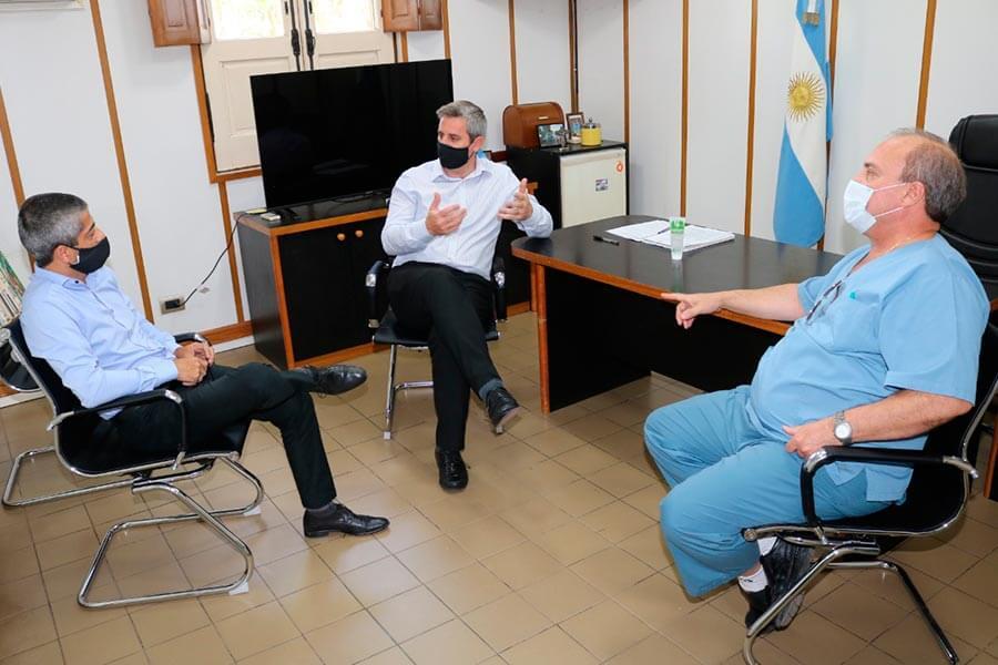Director del sanatorio fue recibido por el presidente municipal