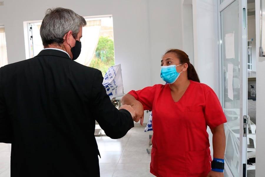 Colon lleva a cabo una intensa campana de vacunacion