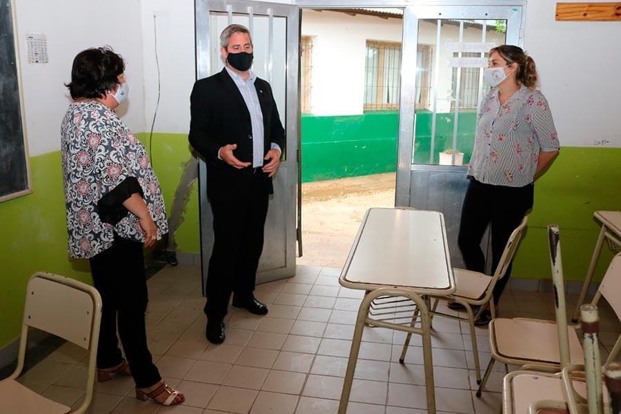 La Municipalidad aportara materiales para trabajos en la Escuela 13