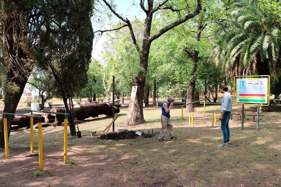 Puesta en valor del Parque Dr. Herminio Quiros