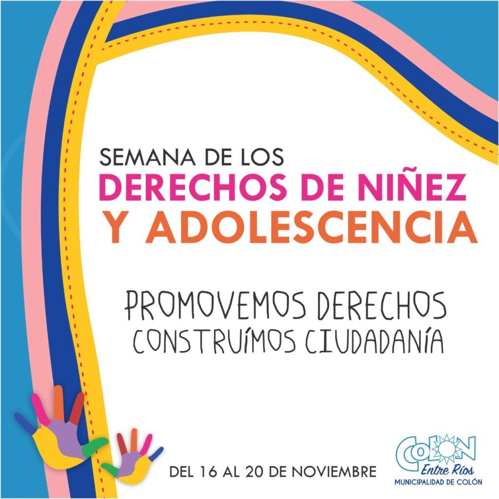 Realizan distintas actividades para adherir a la semana de los Derechos de Ninez y Adolescencia