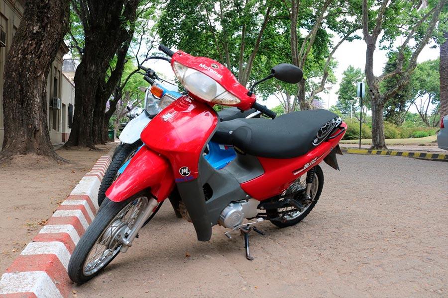 Reubican los sectores para el estacionamiento de motos