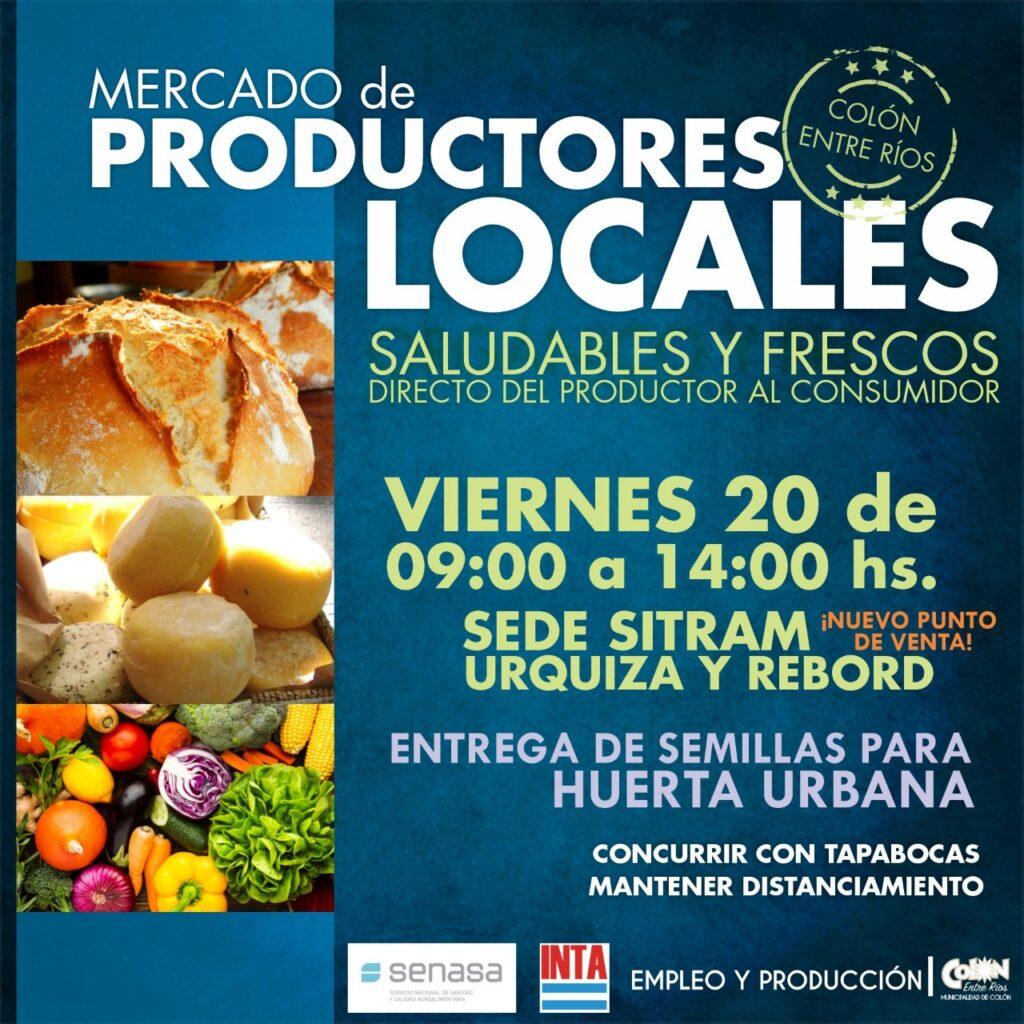 Se suma un nuevo punto del Mercado de Productores Locales