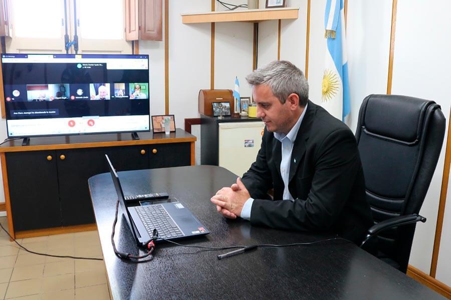 Colon participo de la reunion del Comite de la Cuenca del Rio Uruguay