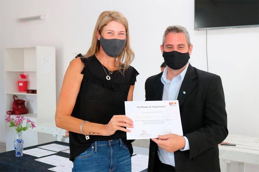 Certificados capacitaciones a empleados municipales