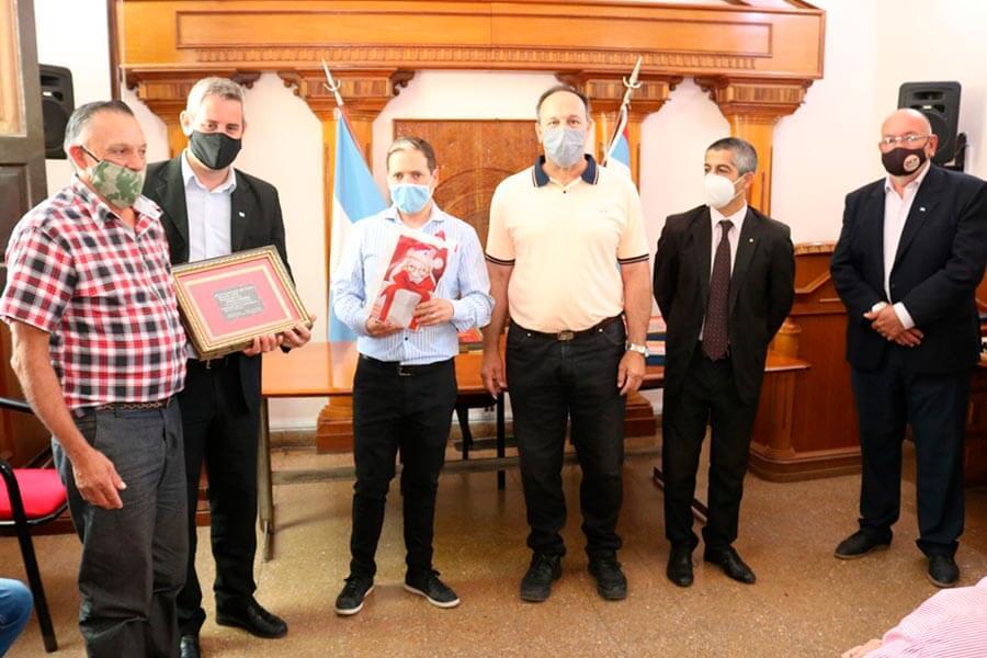 Fueron homenajeados empleados municipales de Colon con 25 años de servicio