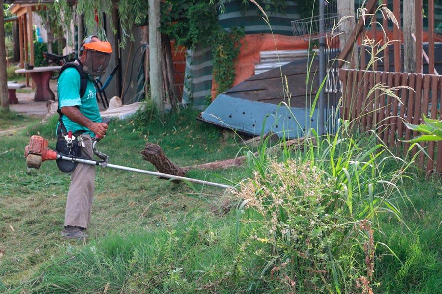 Limpieza y mantenimiento de las cuencas pluviales