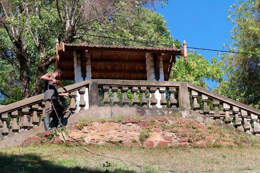 Segunda etapa de trabajos en el bajo Parque Quirós