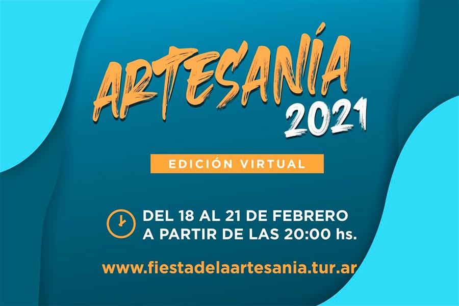 Se programa la Fiesta Nacional de la Artesanía 2021