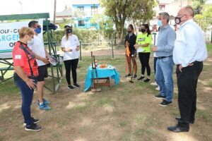 Suman instructores de Golf Croquet
