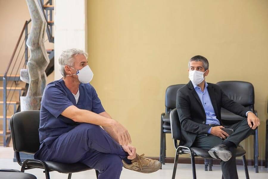 Se reunió el CoES a nivel departamental, para analizar la situación sanitaria de las ciudades del departamento Colón