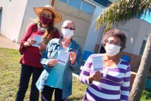 Salud Municipal de Colón vacunó a mayores de 70 años en San Anselmo