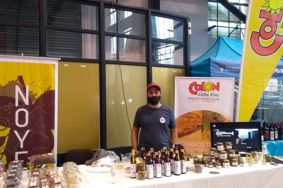 Emprendedores colonenses tuvieron una destacada participación en feria en Paraná