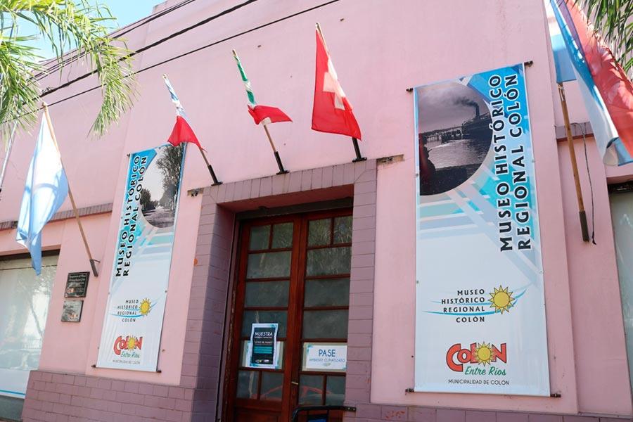 Se inaugura una muestra en el Museo en el marco de la fundación de Colón