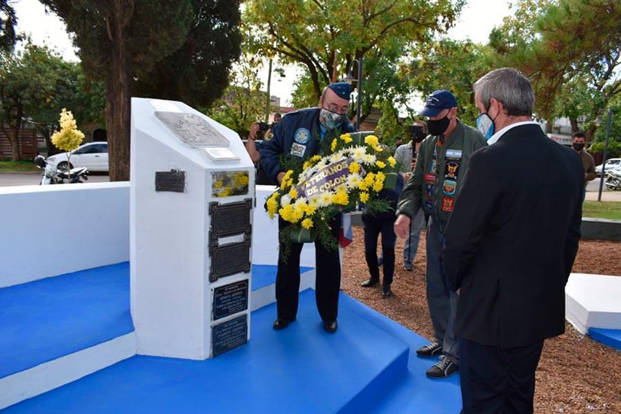 Fueron homenajeados en Colón Caídos y Veteranos de la Guerra de Malvinas