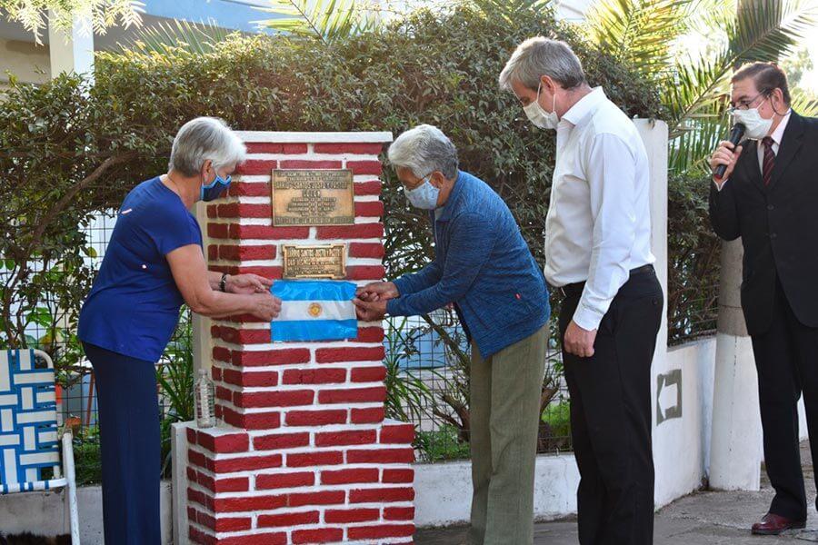 Vecinos del barrio Santos Justo y Pastor recordaron los 50 años de las primeras veinte viviendas