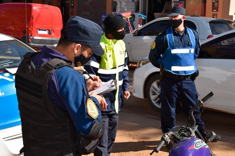 Se realizan controles de prevención de tránsito en Colón