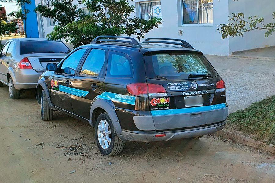 La Municipalidad de Colón gestionó la entrega de un vehículo incautado por el Poder Judicial Federal.