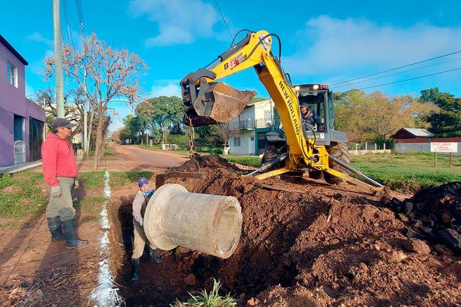 La Municipalidad de Colón trabaja en la optimización de pluviales