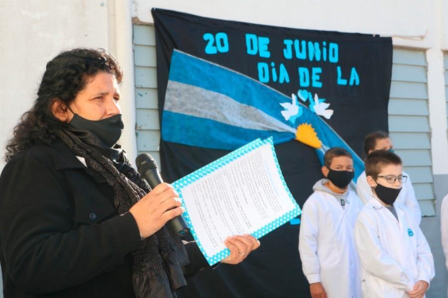 Alumnos de cuarto año prometen Lealtad a la Bandera