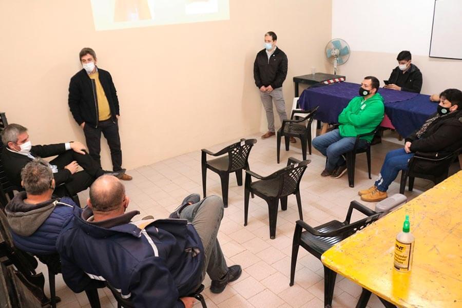 Fue presentado a los gremios el trabajo de relevamiento al Personal Municipal de Colón