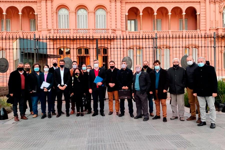 Gestion del Intendente de Colon, en Buenos Aires
