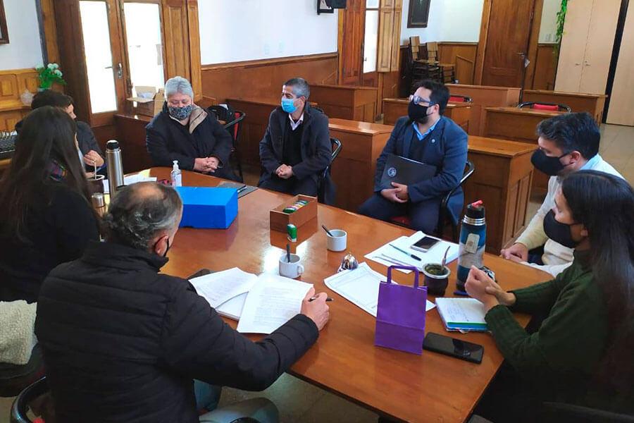 El Ejecutivo Municipal y el Concejo Deliberante de Colón analizaron Proyecto de Ordenanza