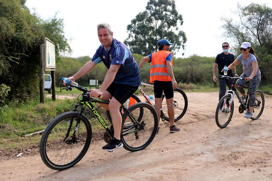 Más personas se sumaron a la segunda bicicleteada recreativa