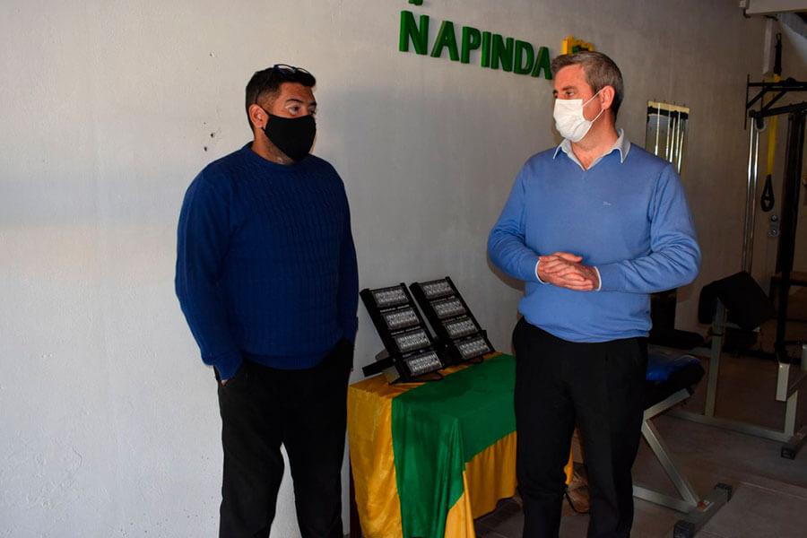 Se encaran diversos trabajos en Club Ñapindá