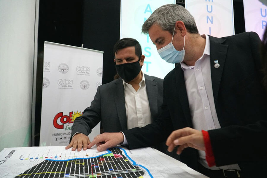 """Con presencia de autoridades nacionales y provinciales se presentó el Programa """"Colón Camino a la Accesibilidad"""""""