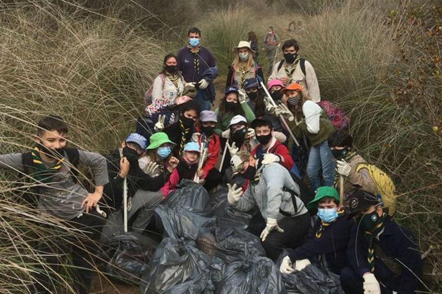 Se llevó a cabo una jornada de limpieza y concientización en la Reserva Norte de Colón