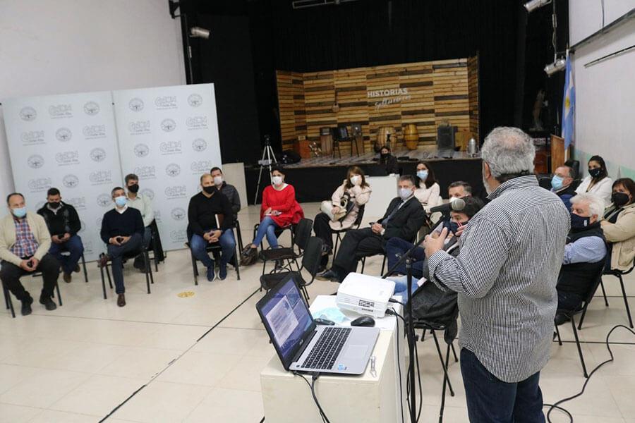 Se expuso el Plan de Ordenamiento Territorial a Colegios de Profesionales de Colón