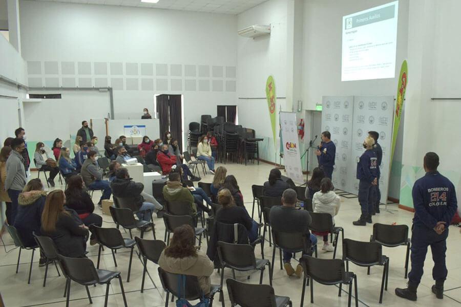 Se dictó una capacitación sobre RCP y Primeros Auxilios a prestadores turísticos