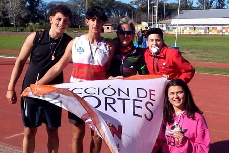 Atletas colonenses obtuvieron excelentes resultados en el provincial U-20