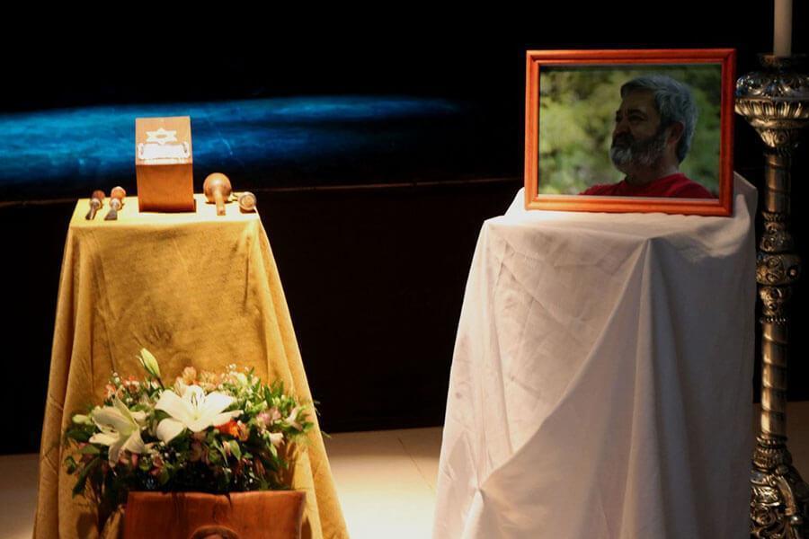 El Maestro Artesano Hugo Da Silva fue despedido por familiares, amigos y allegados