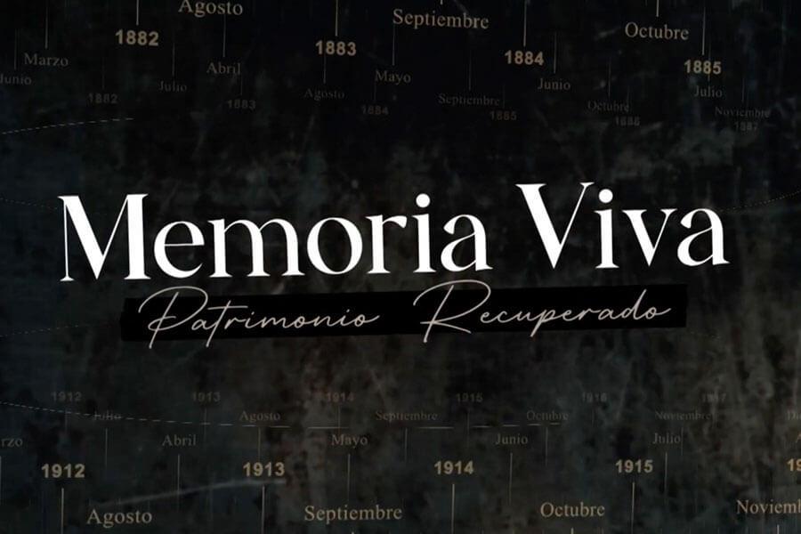 """Se estrena el último capítulo de """"Memoria Viva. Patrimonio Recuperado."""""""