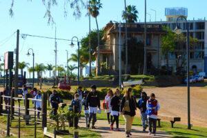 Se realizó la Jornada Taller Turístico-Educativo en la naturaleza