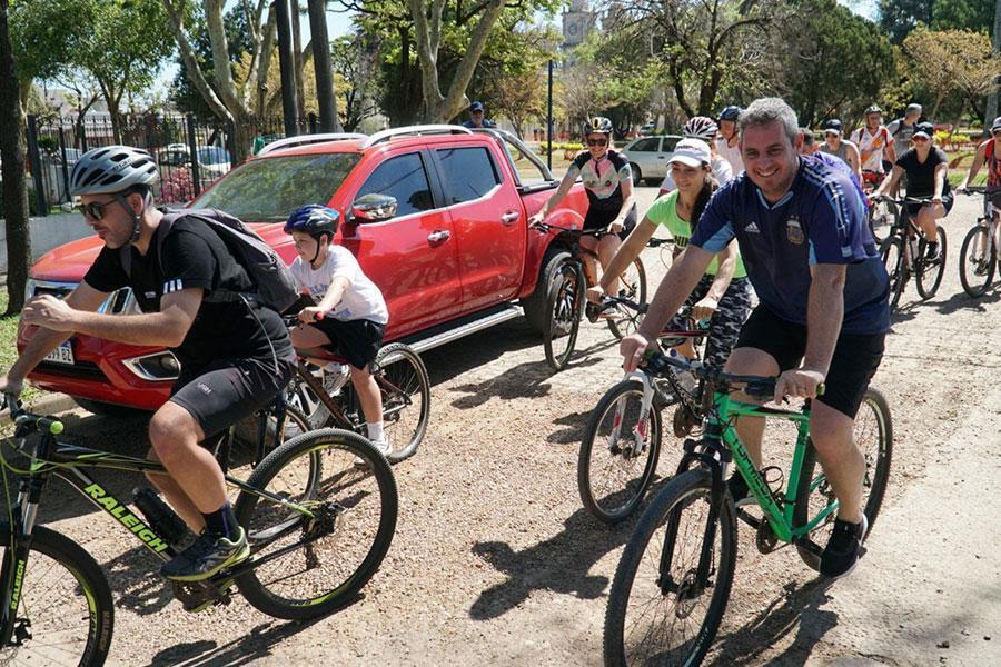 Fue un éxito la tercera bicicleteada por caminos vecinales de Colón