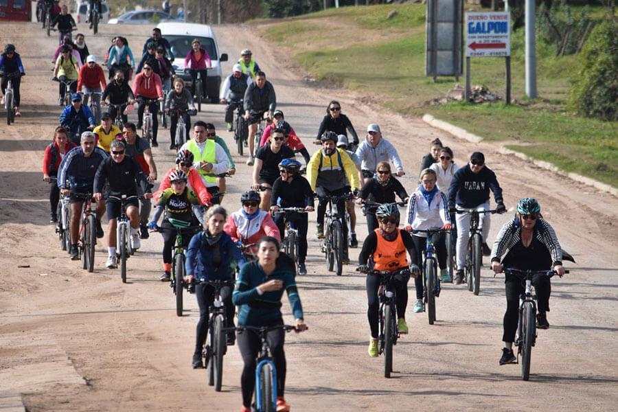 Preparan la tercera bicicleteada recreativa por caminos vecinales de Colón