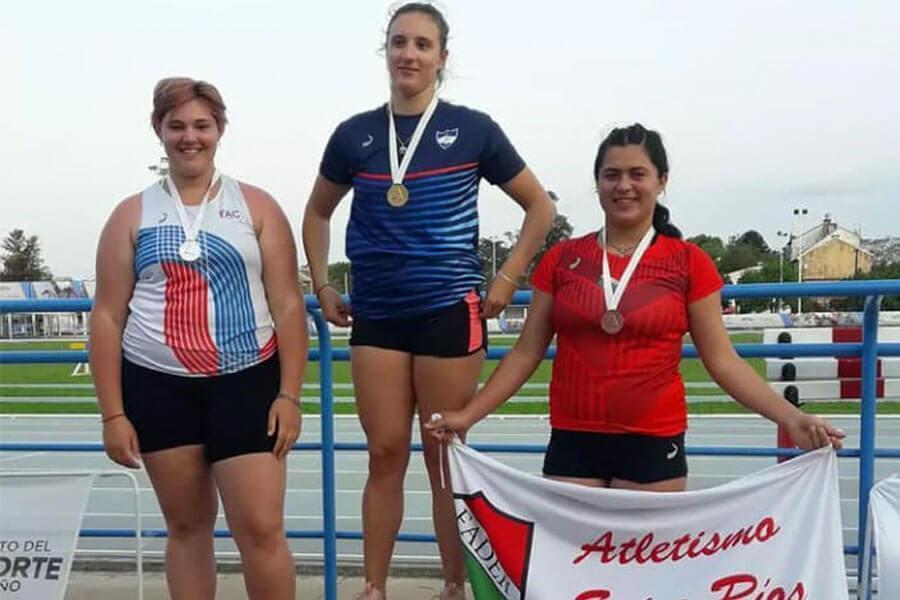 Colonenses destacados en el Campeonato Nacional de Atletismo U-20