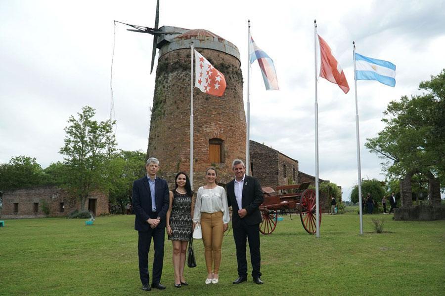 El Embajador de Suiza en Argentina fue recibido en el Molino Forclaz