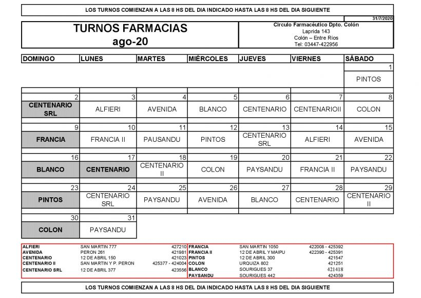CRONOGRAMA DE TURNOS ACTUAL AGOSTO 2020-page-001